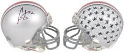Cris Carter Ohio State Buckeyes Autographed Mini Helmet