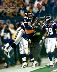Cris Carter Autographed Vikings 16x20 Photo