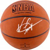 Vince Carter Dallas Mavericks Autographed Spalding Indoor/Outdoor Basketball