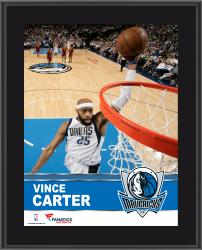 Vince Carter Dallas Mavericks Sublimated 10.5'' x 13'' Plaque - Mounted Memories