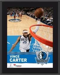 """Vince Carter Dallas Mavericks Sublimated 10.5"""" x 13"""" Plaque"""
