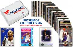 Vince Carter -Toronto Raptors- Collectible Lot of 20 NBA Trading Cards - Mounted Memories