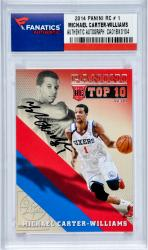 Michael Carter-Williams 2014 PANINI RC # 1 Rookie Card