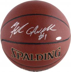 Michael Carter-Williams Philadelphia 76ers Autographed Spalding Indoor Outdoor Basketball - Mounted Memories