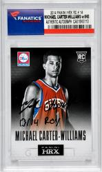 Autographed Michael Carter-Williams Rookie Card - 13/14 ROY