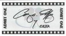 Cary Guffey Signed 3x5.5 Card Close Encounters of the Third Kind CE3K Inscript