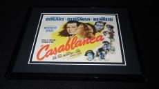 Casablanca 1942 8x10 Framed Photo Poster Display Official Repro Humphrey Bogart