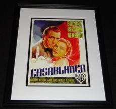 Casablanca Framed 11x14 Poster Display Official Repro Humphrey Bogart