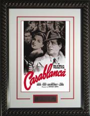 """Casablanca Framed 11x17"""" Publicity Movie Poster"""