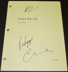Case 39 Autographed Script by Bradley Cooper, Renee Zellweger, and Callum Keith Rennie
