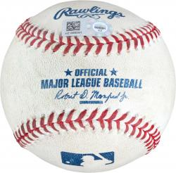 Cashner, Andrew Game Used Pitched Baseball (mlb)