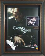 James Bond 007 - Casino Royale Daniel Craig Signed Movie Dis