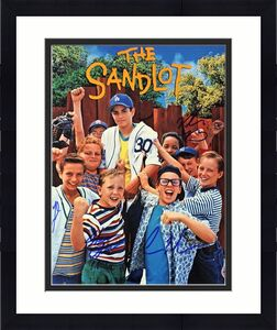 The Sandlot Cast Signed 11x14 Squints Yeah Yeah Timmy & Tommy Timmons 2