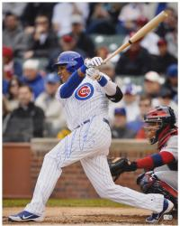 "Starlin Castro Chicago Cubs Autographed 16"" x 20"" Photograph"