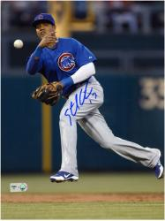 """Starlin Castro Chicago Cubs Autographed 8"""" x 10"""" Photograph"""
