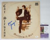 Cat Stevens Yusuf Islam Signed Matthew & Son Record Album Jsa Coa K42144