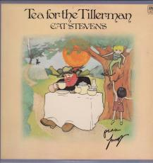 Cat Stevens Yusuf Islam Signed Tea For The Tillerman Record Album Jsa R18309