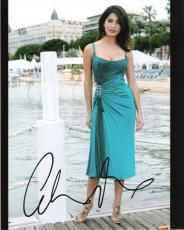 """CATERINA MURINO (ITALIAN ACTRESS) Was in TV Series """"ZEN"""" Signed 8x10 Color Photo"""