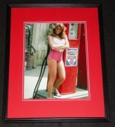 Catherine Bach Daisy Duke at Gas Tank Framed 11x14 Photo Dukes of Hazzard