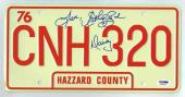 Catherine Bach Dukes of Hazzard Signed License Plate Certified Authentic PSA/DNA