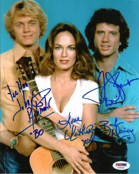 Catherine Bach John Schneider Tom Wopat Dukes of Hazzard Signed 8x10 PSA/DNA #3