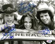 Catherine Bach John Schneider Tom Wopat Dukes of Hazzard Signed 8x10 PSA/DNA #6
