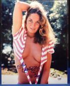 Catherine Bach Signed 11x14 Dukes of Hazzard Photo w/Insc PSA Cert# AA62318