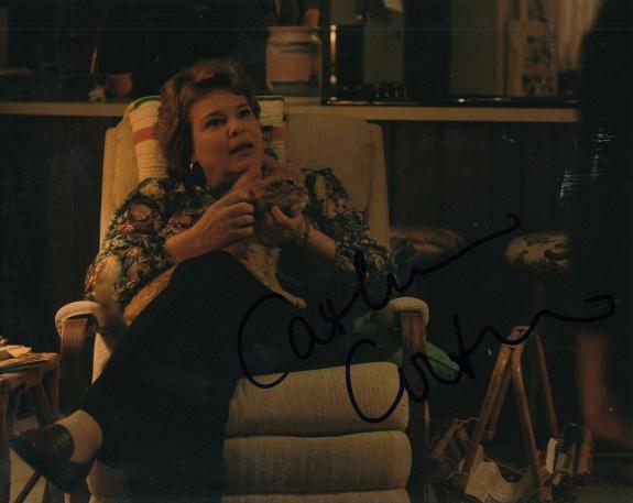 CATHERINE CURTIN signed (STRANGER THINGS) Claudia Henderson 8X10 photo W/COA #2