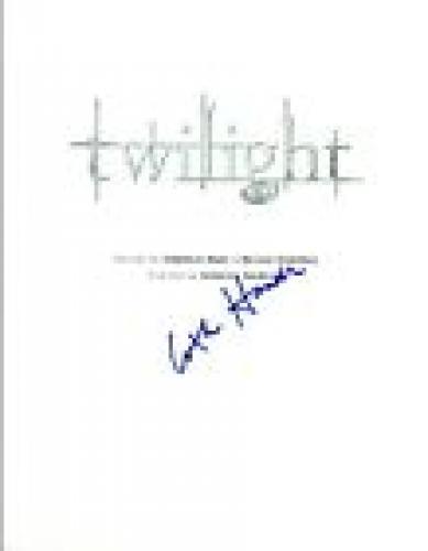 Catherine Hardwick Signed Autographed TWILIGHT Full Movie Script COA VD