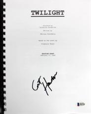 Catherine Hardwicke Signed Twilight Movie Script BAS #B51596