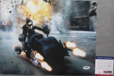 CATWOMAN!!! Anne Hathaway Signed BATMAN DARK KNIGHT RISES 11x14 Photo #2 PSA/DNA