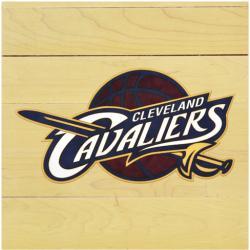 "NBA Cleveland Cavaliers 12"" x 12"" Logo Floor Piece"