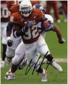 "Cedric Benson Texas Longhorns Autographed 8"" x 10"" Photograph"