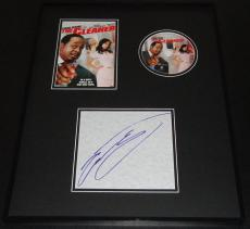 Cedric the Entertainer Signed Framed 16x20 Codename the Cleaner DVD Display JSA
