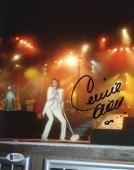 """Celine Dion Autographed 8""""x 10"""" White Outfit Photograph - BAS COA"""