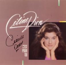 Celine Dion Autographed C'est Pour Toi Album - PSA/DNA COA