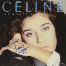 Celine Dion Autographed Incognito Album Cover With Love Inscription - PSA/DNA COA