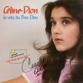 Celine Dion Autographed la Voix du Bon Dieu Album Cover - PSA/DNA COA