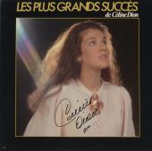 Celine Dion Autographed Les Plus Grands Succes Album Cover Black Ink- PSA/DNA COA