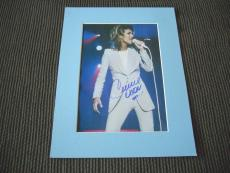 Celine Dion Sexy Signed Autographed 11x14 Photo Display PSA Guaranteed