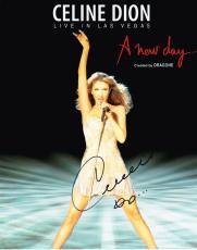 Celine Dion Signed 8x10 Photo Authentic Autograph Grammy Titanic Sexy Hot Coa D