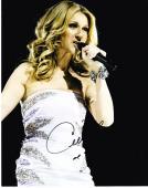 Celine Dion Signed 8x10 Photo Authentic Autograph Grammy Titanic Sexy Hot Coa E