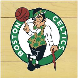 "NBA Boston Celtics 12"" x 12"" Logo Floor Piece"
