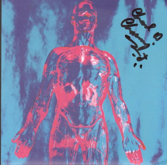 "CHAD CHANNING Signed NIRVANA ""Sliver"" 45 RPM Album Sleeve JSA #Q98463"