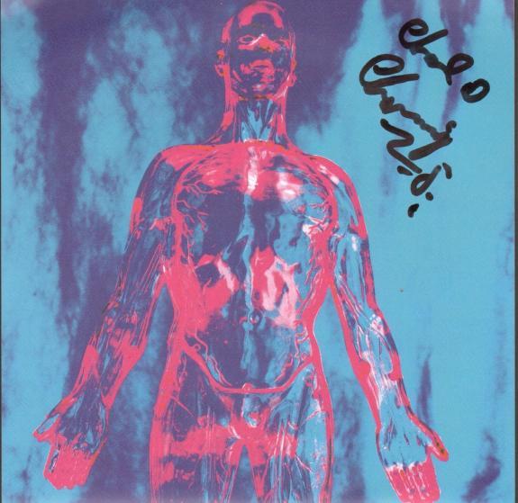 "CHAD CHANNING Signed NIRVANA ""Sliver"" 45 RPM Album Sleeve JSA #Q98464"