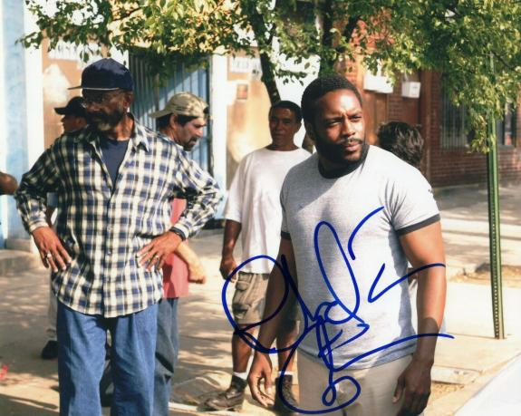 Chad Coleman Signed 8x10 Photo w/COA The Wire Cutty The Walking Dead #1