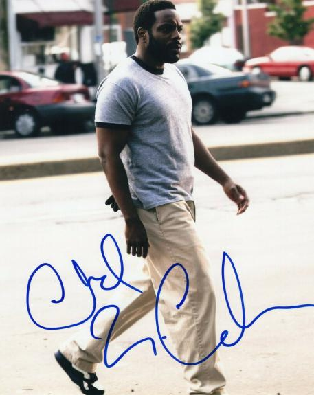Chad Coleman Signed 8x10 Photo w/COA The Wire Cutty The Walking Dead #2