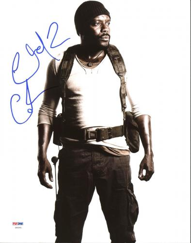 Chad Coleman The Walking Dead Signed 11X14 Photo PSA/DNA #Z90241