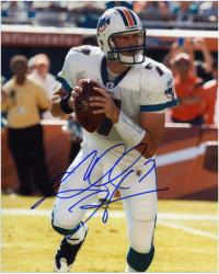 Chad Henne Signed Picture - Miami Dolphins 8x10 Mounted Memories