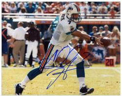 Autographed Henne Photo - Miami Dolphins 8x10 Mounted Memories
